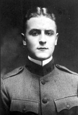 B&W Fitzgerald -- Military head shot