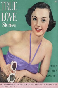 True Love Stories vintage magazine - August 1950 - Ektachrome by Charles E