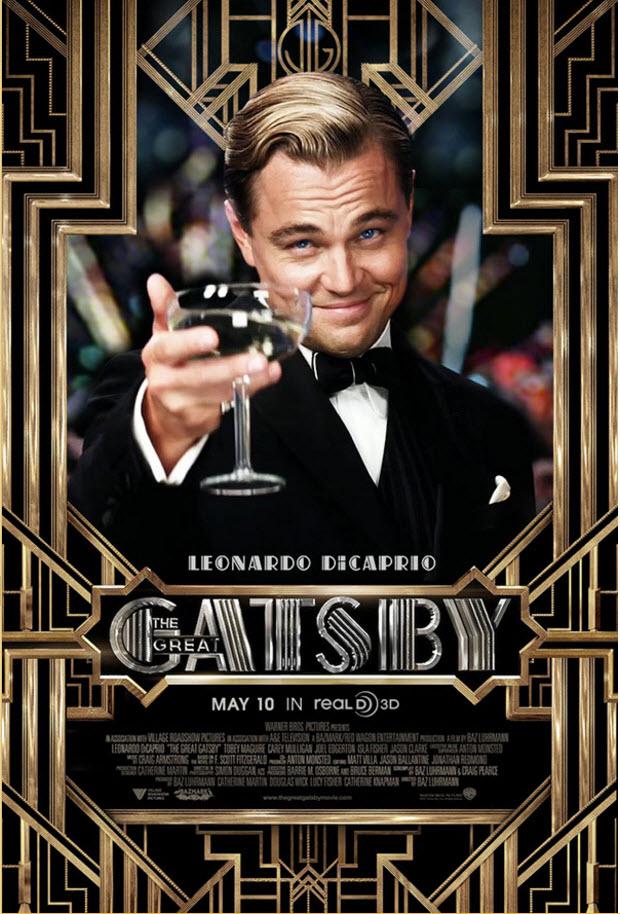 Great Gatsby POSTER --Leonardo