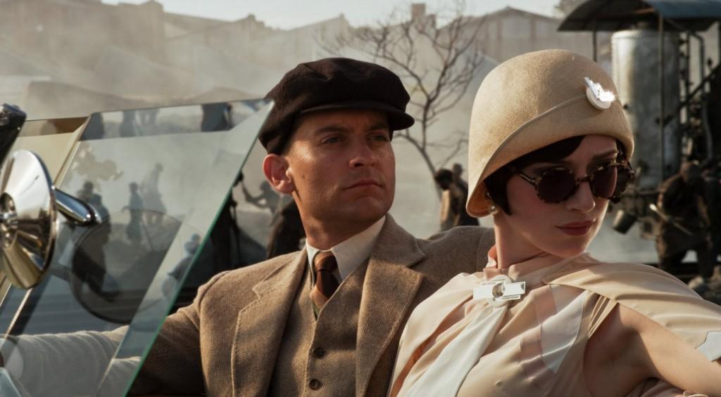 Great Gatsby -- Toby in Car