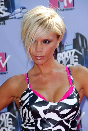 Victoria Beckham arriving at the 2007 MTV Movie Awards. Gibson A