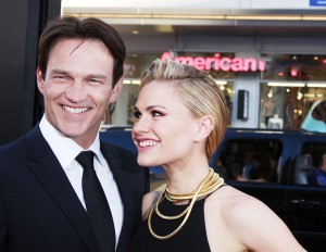 LOS ANGELES - JUN 17:  Stephen Moyer, Anna Paquin at the HBO's ""