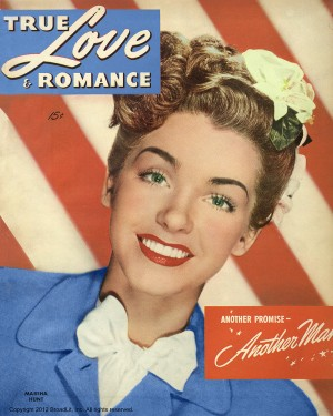 True Love and Romance vintage magazine - July 1946