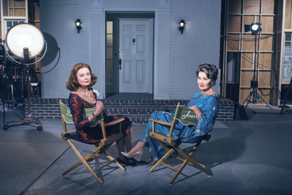 Bette & Joan -- On Set